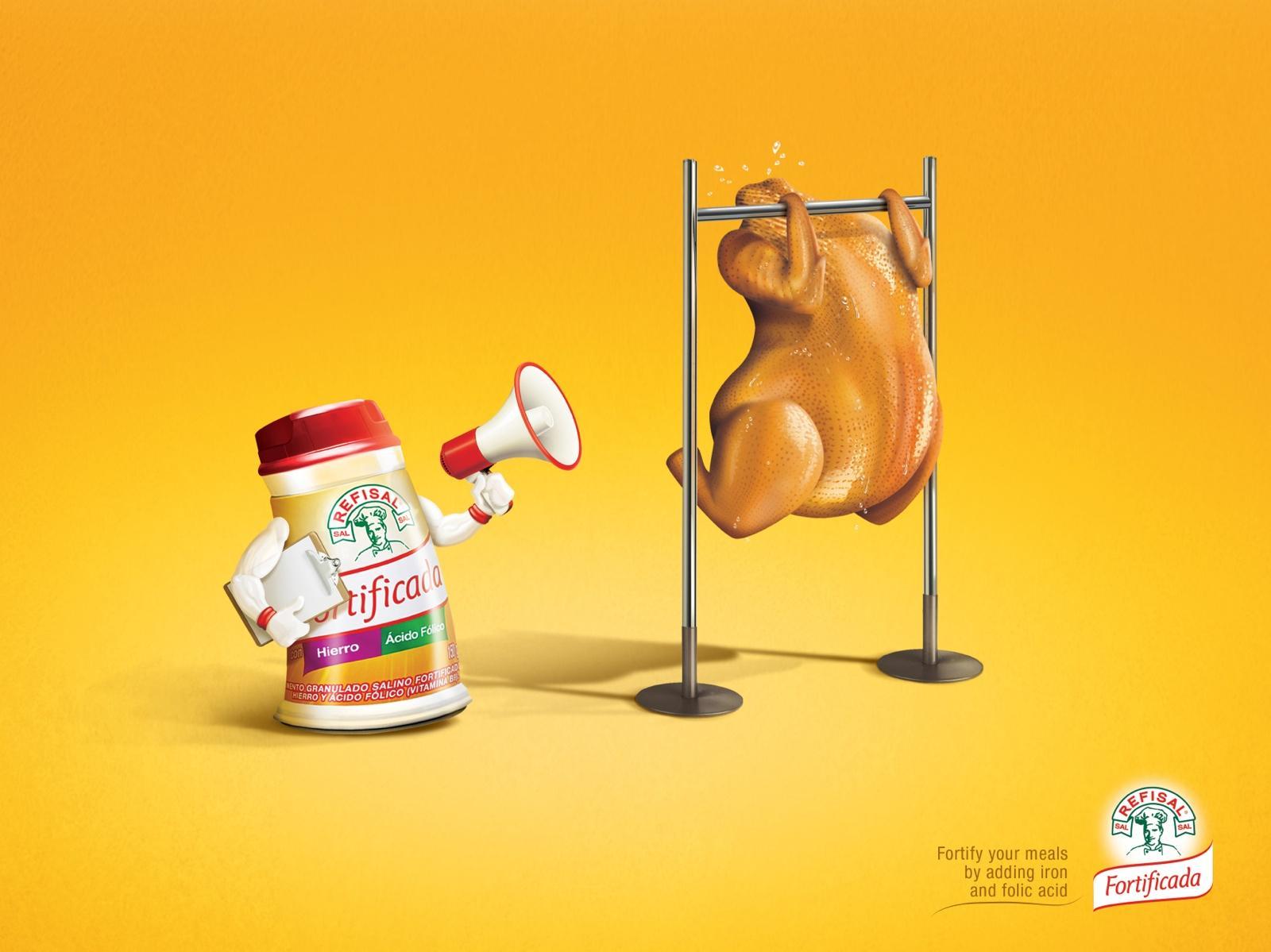 Refisal Print Ad -  Chicken