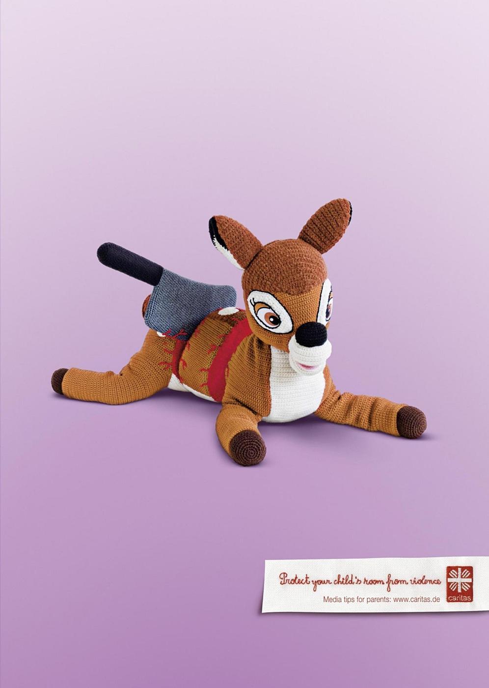 Caritas Outdoor Ad -  Bambi