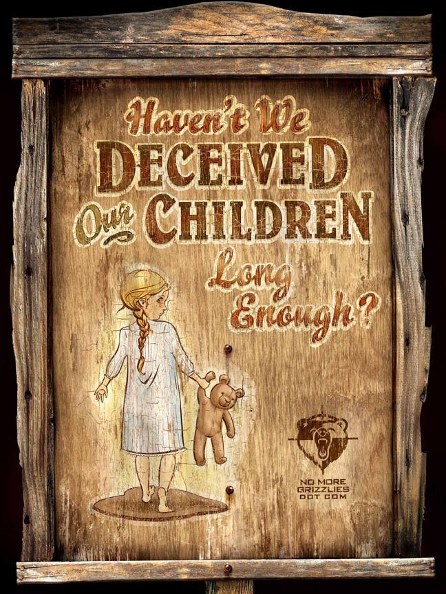 Alberta Wilderness Association Print Ad -  Children