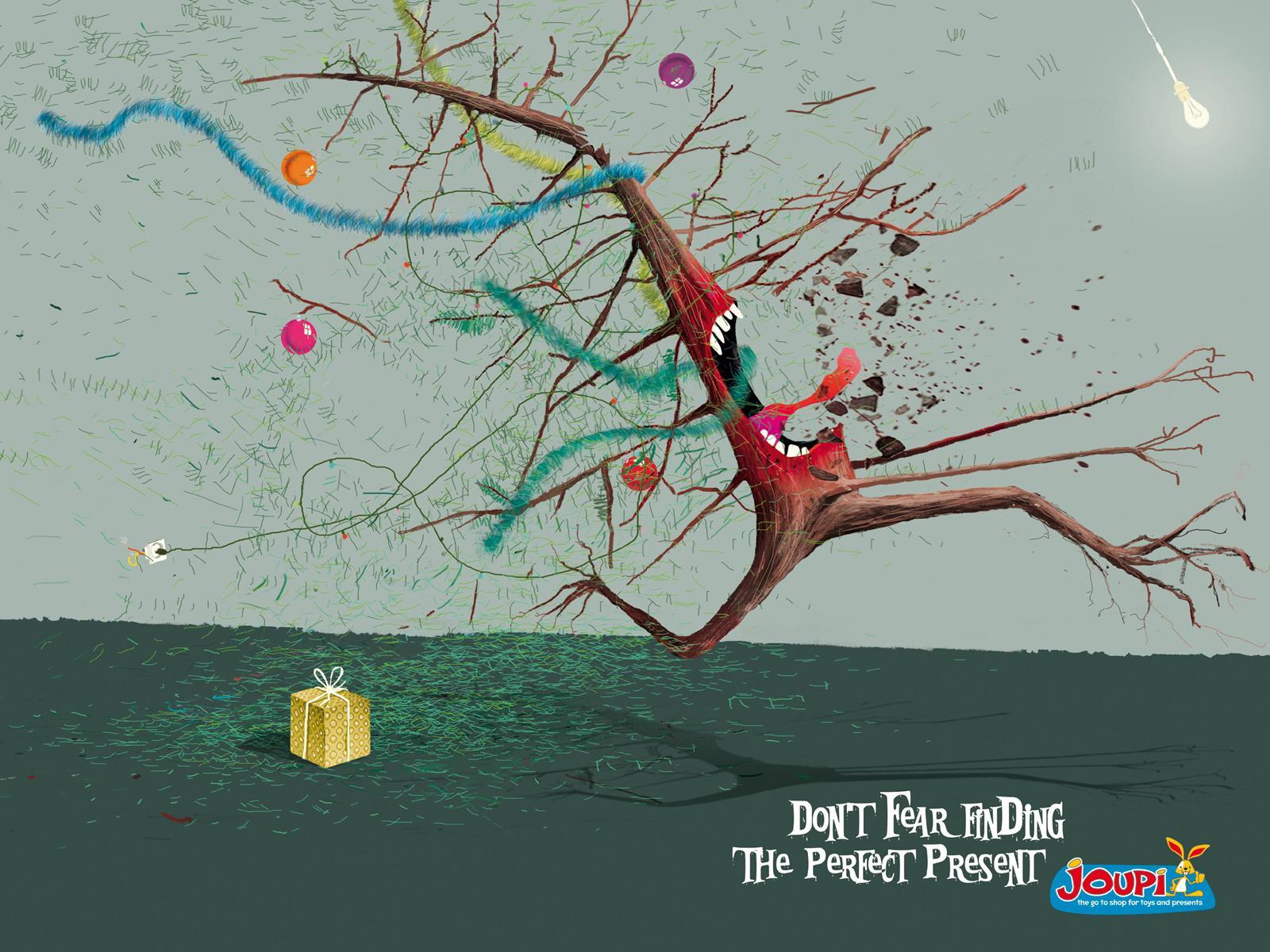 Joupi Print Ad -  Christmas