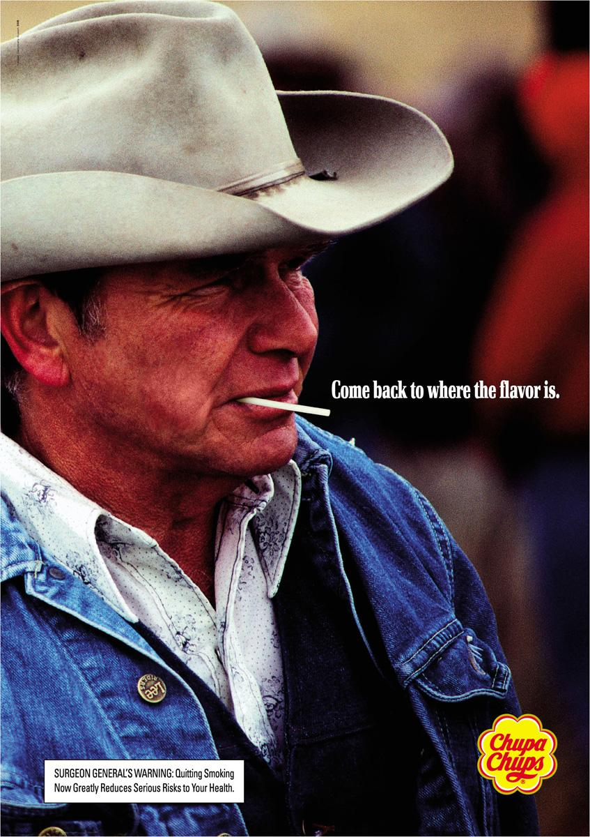 Chupa Chups cowboy