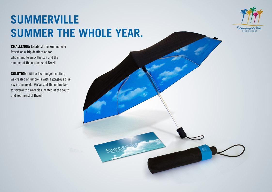 SummerVille Direct Ad -  Umbrella