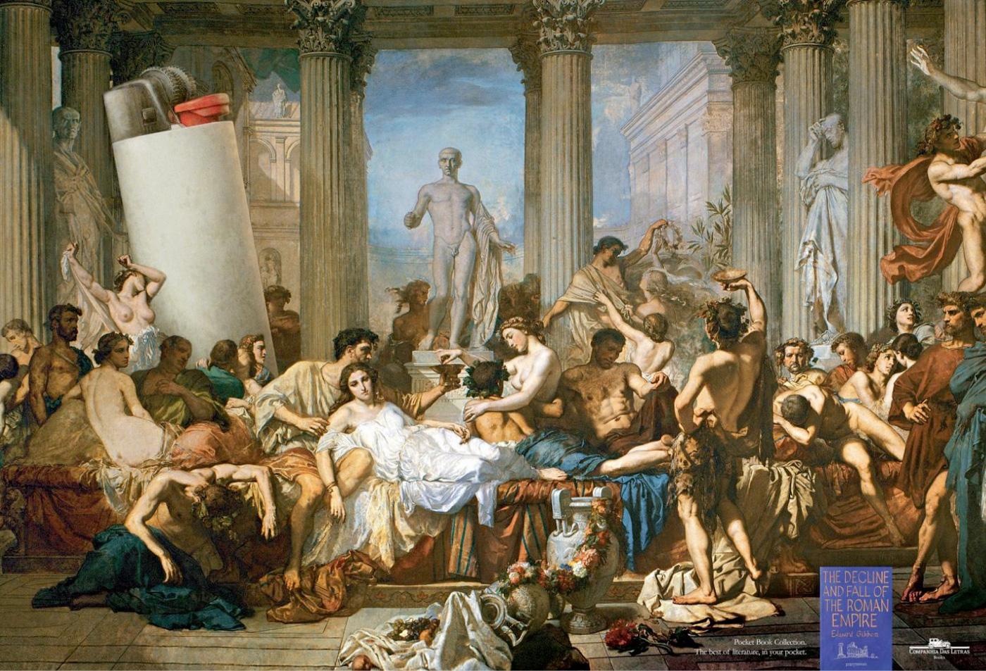 Cia de Bolso Print Ad -  Romans