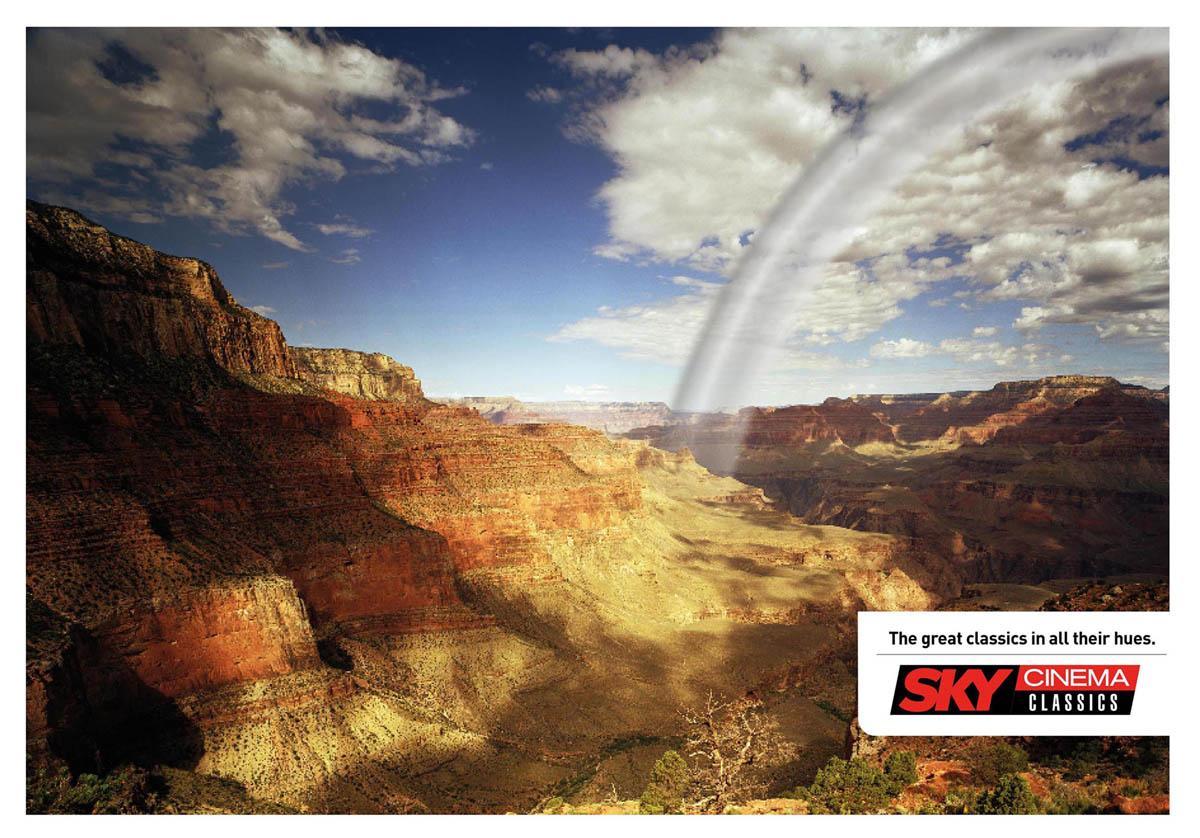 SKY Print Ad -  Rainbow, 3