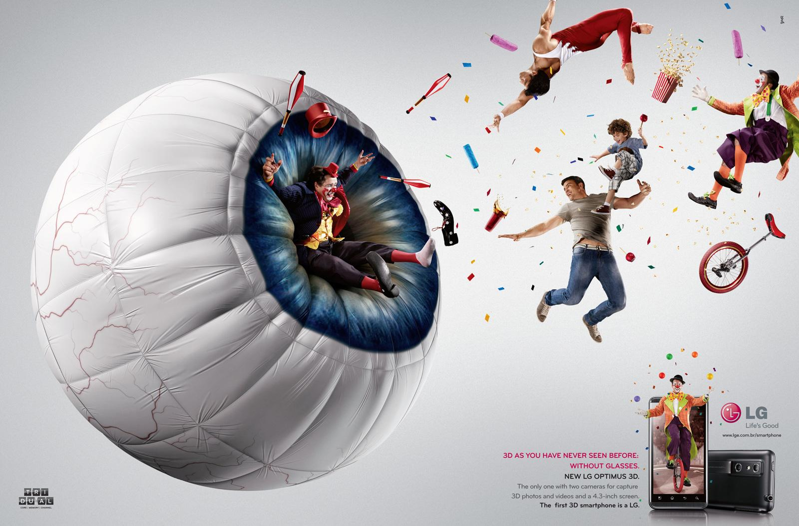 LG Print Ad -  Circus
