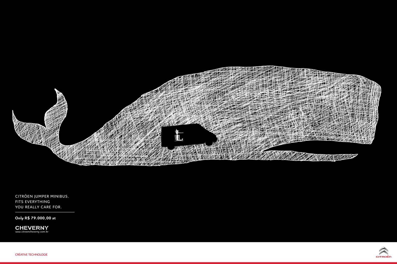 Citroën Print Ad -  Whale