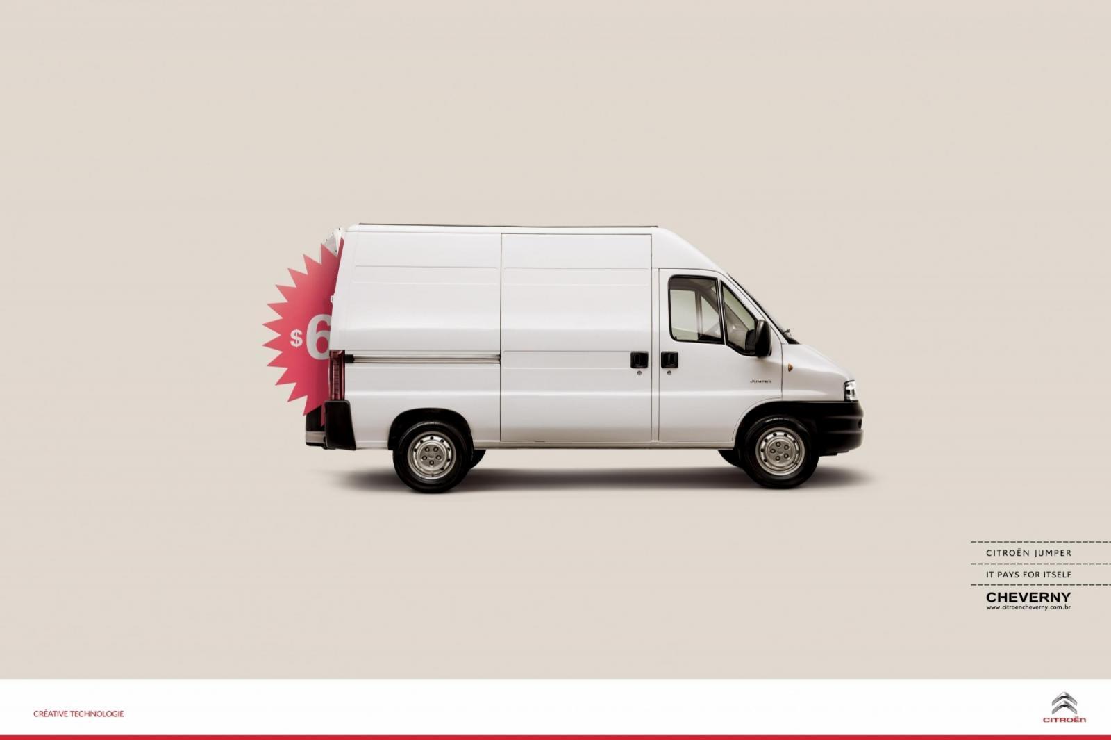 Citroën Print Ad -  Price