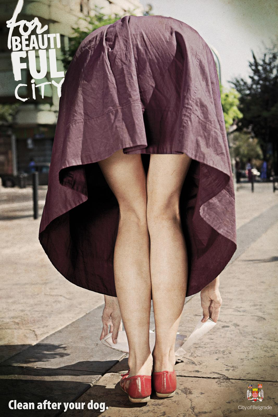 City Of Belgrade Print Ad -  Clean after your dog, 3