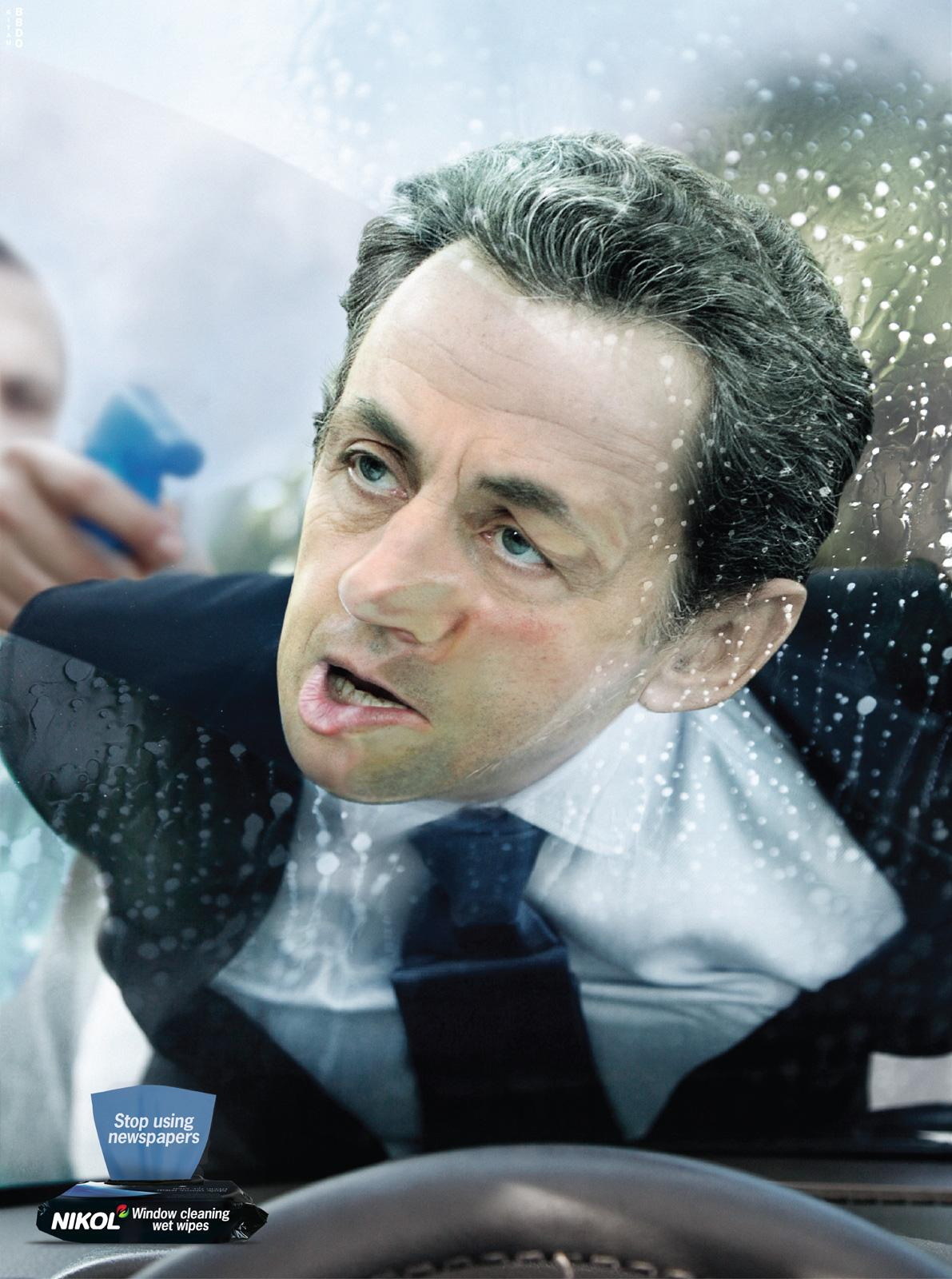 Nikol Print Ad -  Sarkozy