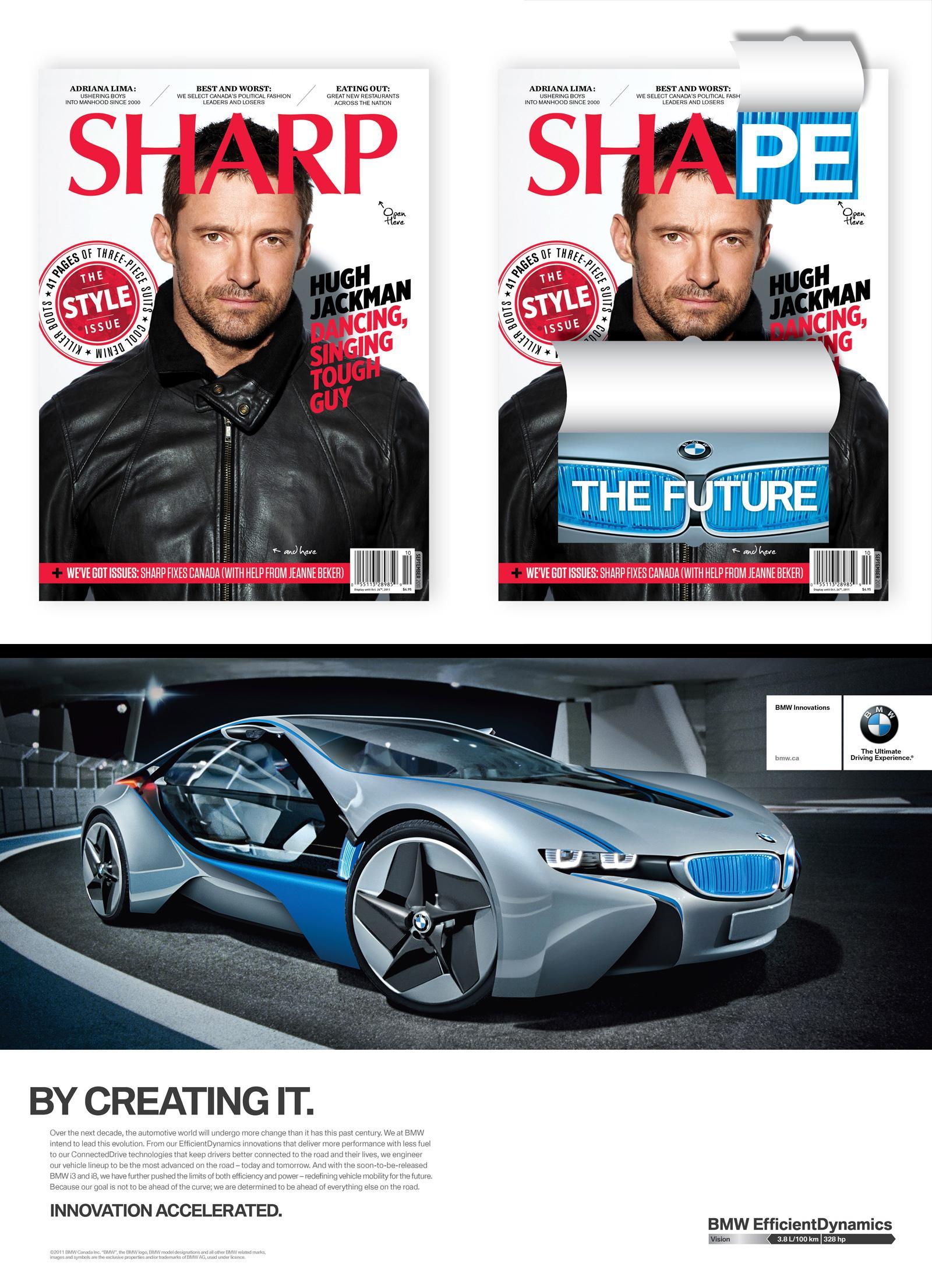 BMW Print Ad -  Title Switch