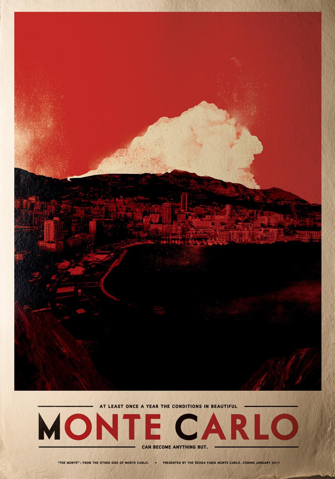 Skoda Print Ad -  Monte Carlo, Cloud