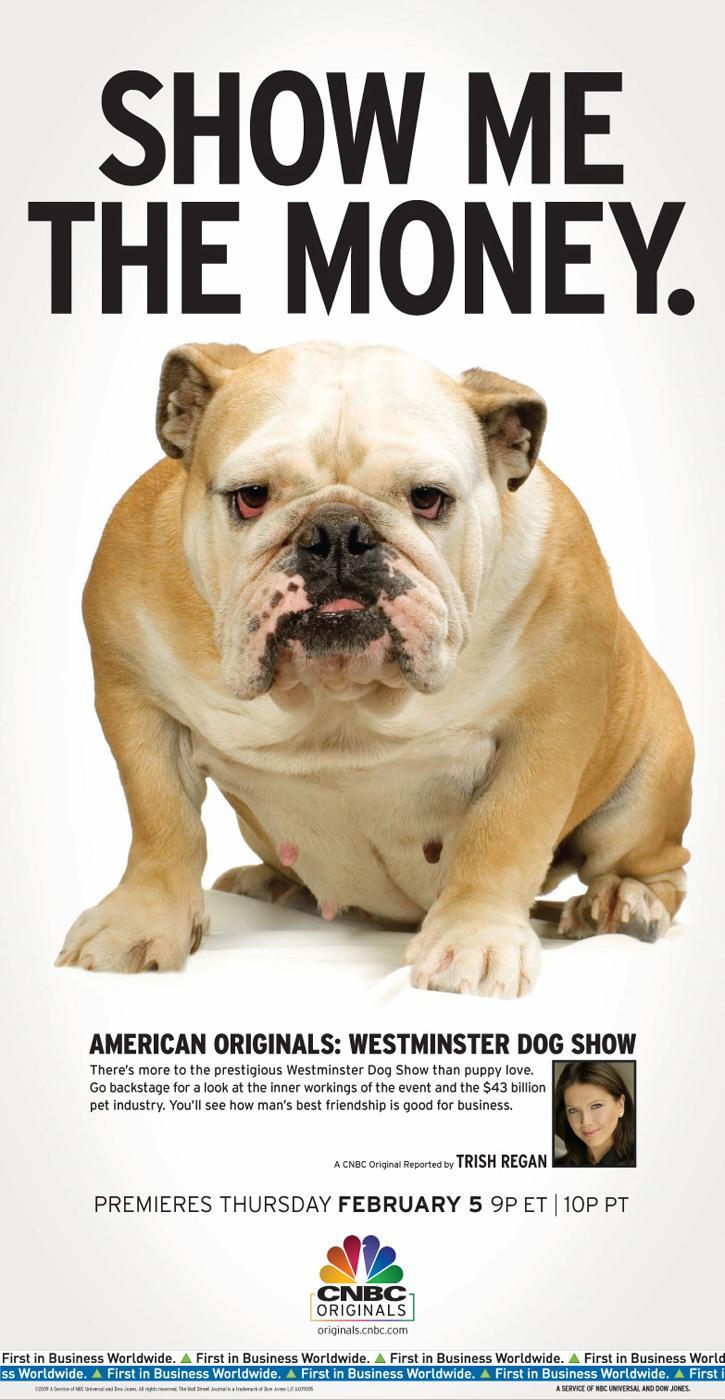 CNBC Print Ad -  Bulldog