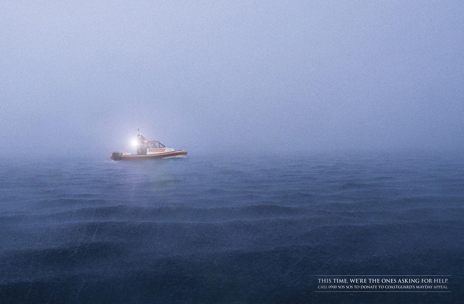 Royal NZ Coastguard Print Ad -  Torch