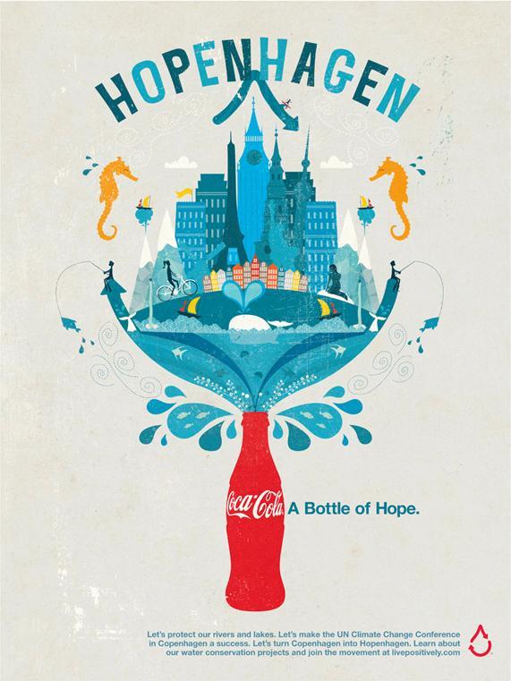 Coca-Cola Print Ad -  Hopenhagen, 2