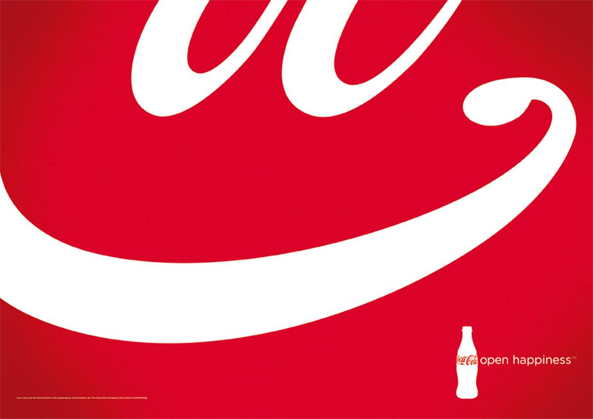 Coca-Cola Print Ad -  Open Happiness