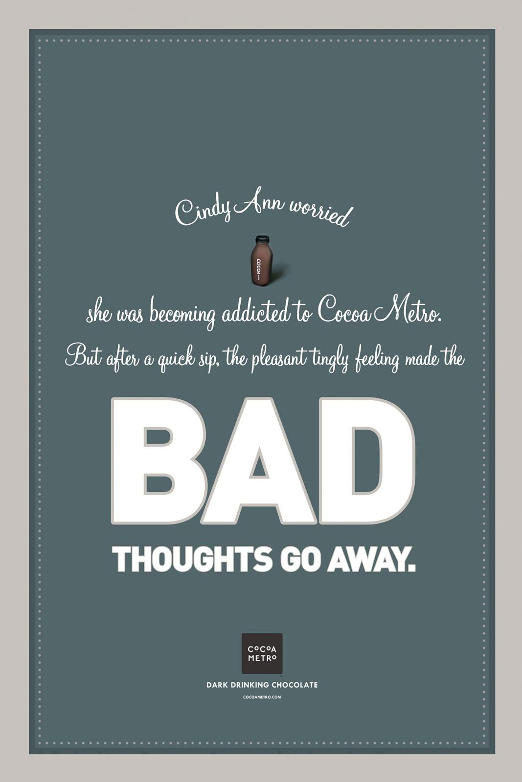 Cocoa Metro Outdoor Ad -  Story poster campaign, Bad