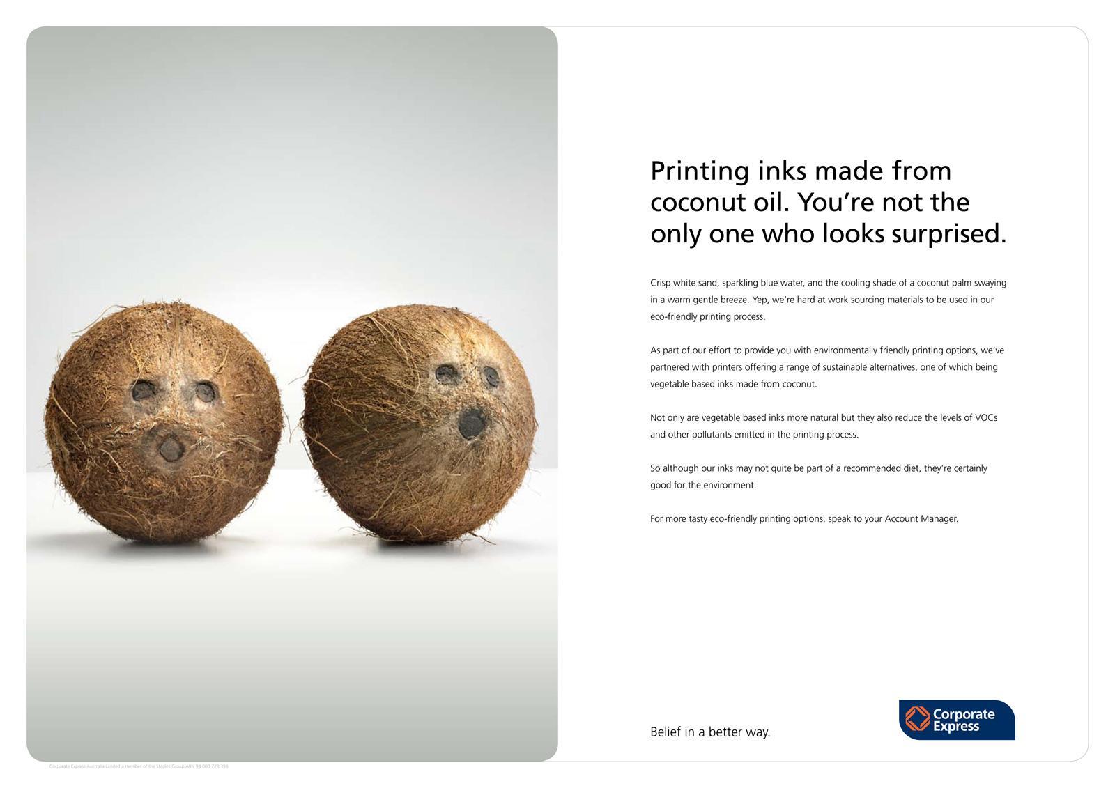 Go Green Guide Print Ad -  Coconuts
