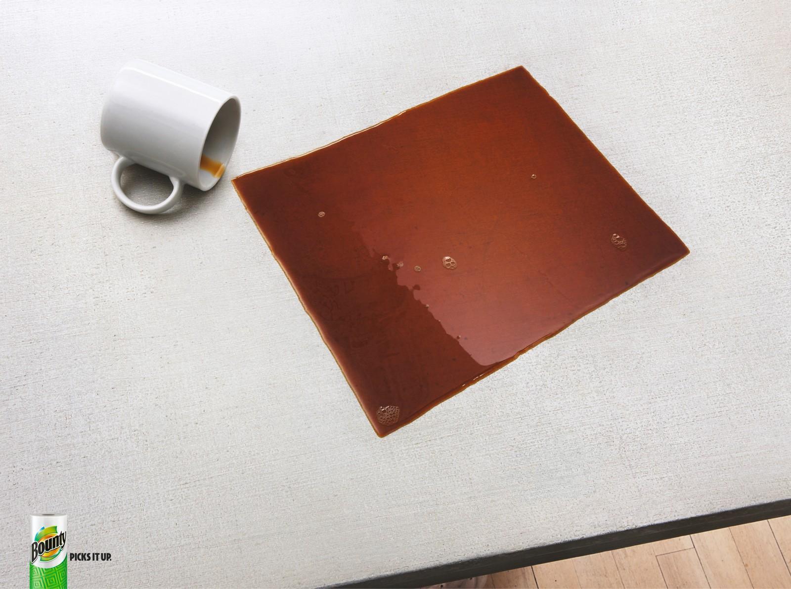 Bounty Print Ad -  Coffee