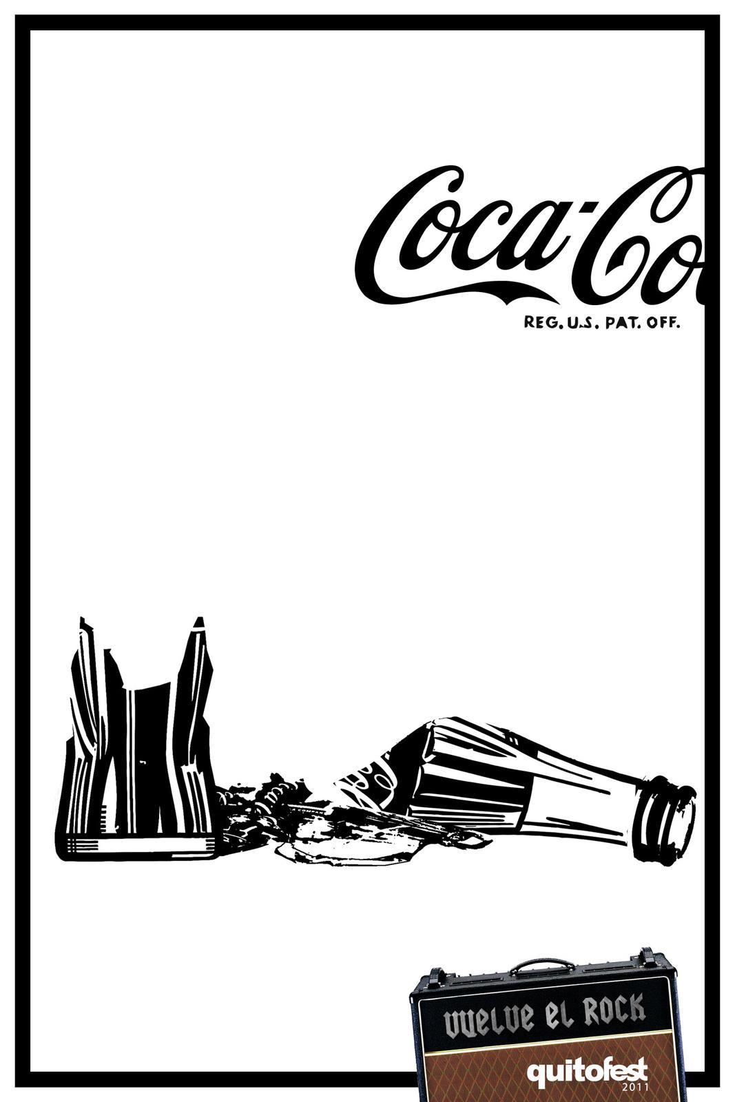 QuitoFest Print Ad -  Coke