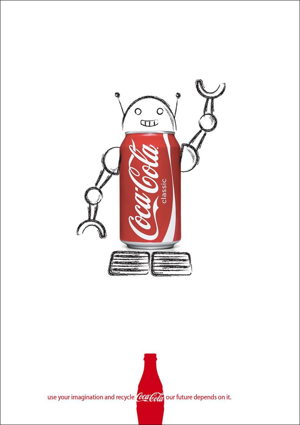 Coca-Cola Print Ad -  Recycle, 2