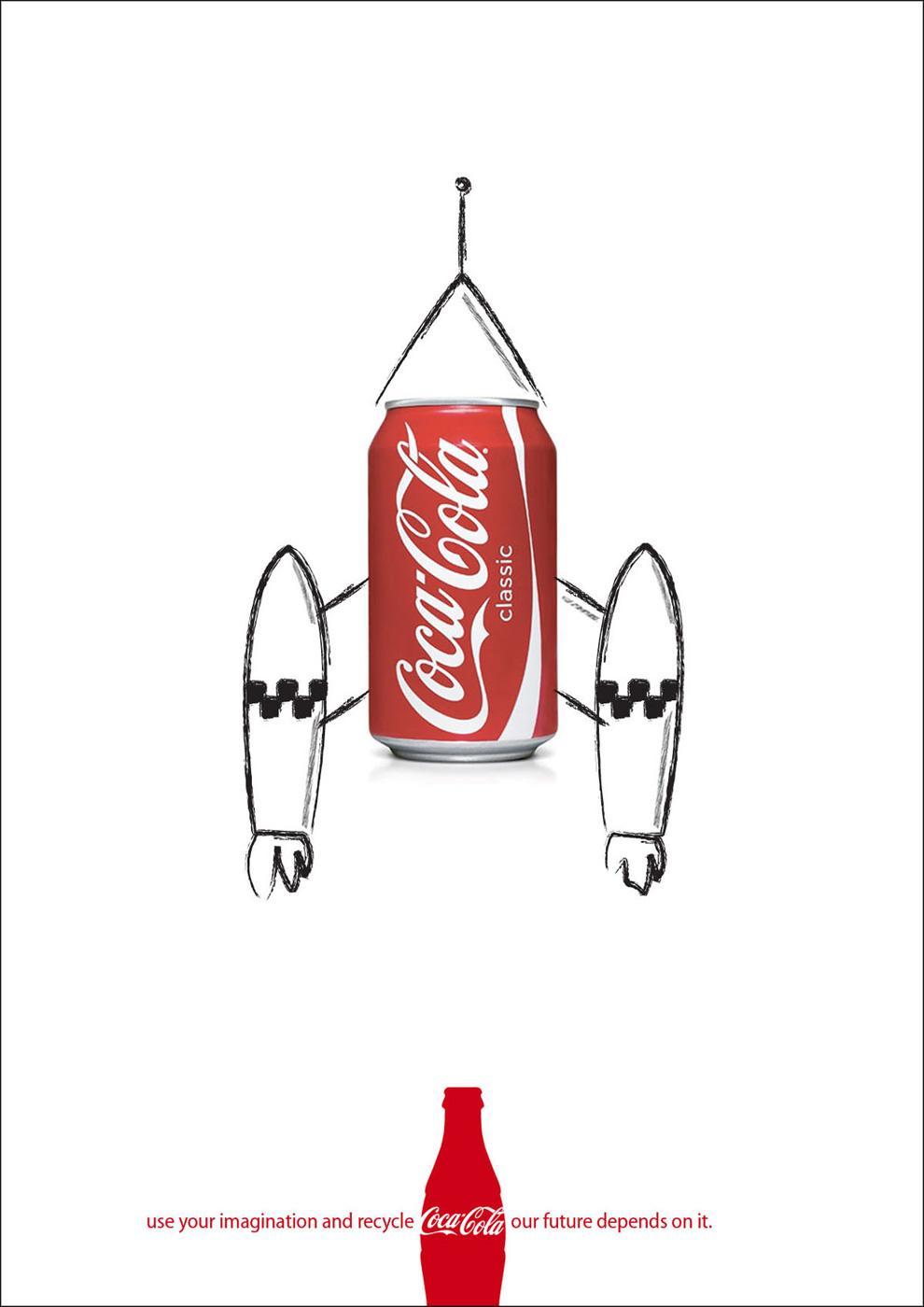Coca-Cola Print Ad -  Recycle, 3
