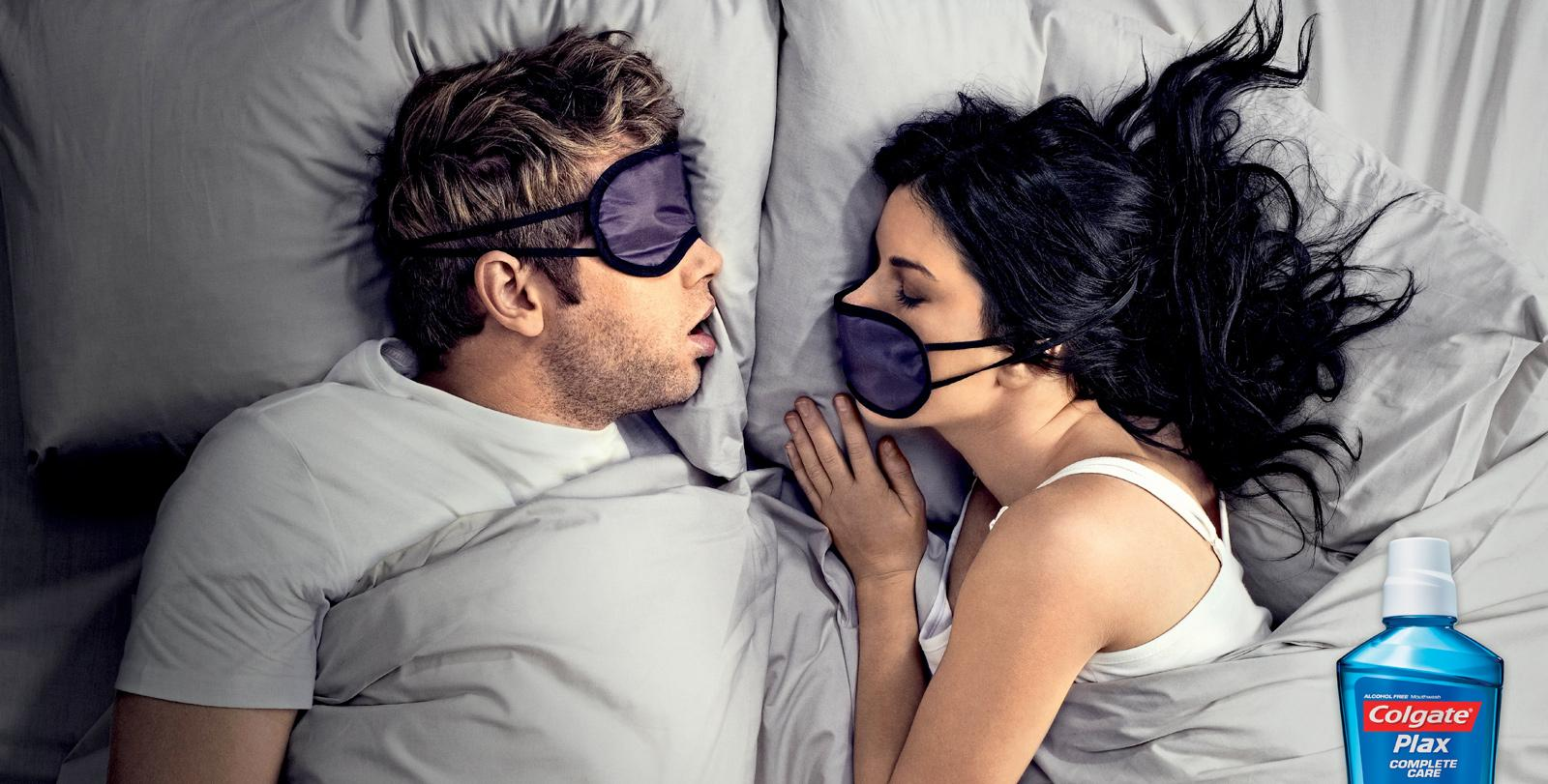 Colgate Outdoor Ad -  Eye Mask
