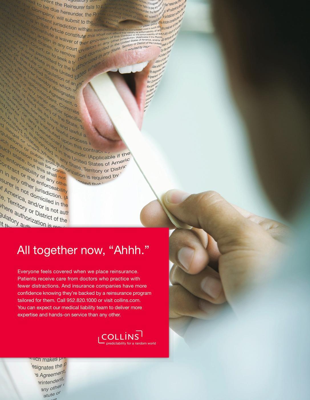 Collins Print Ad -  Tongue