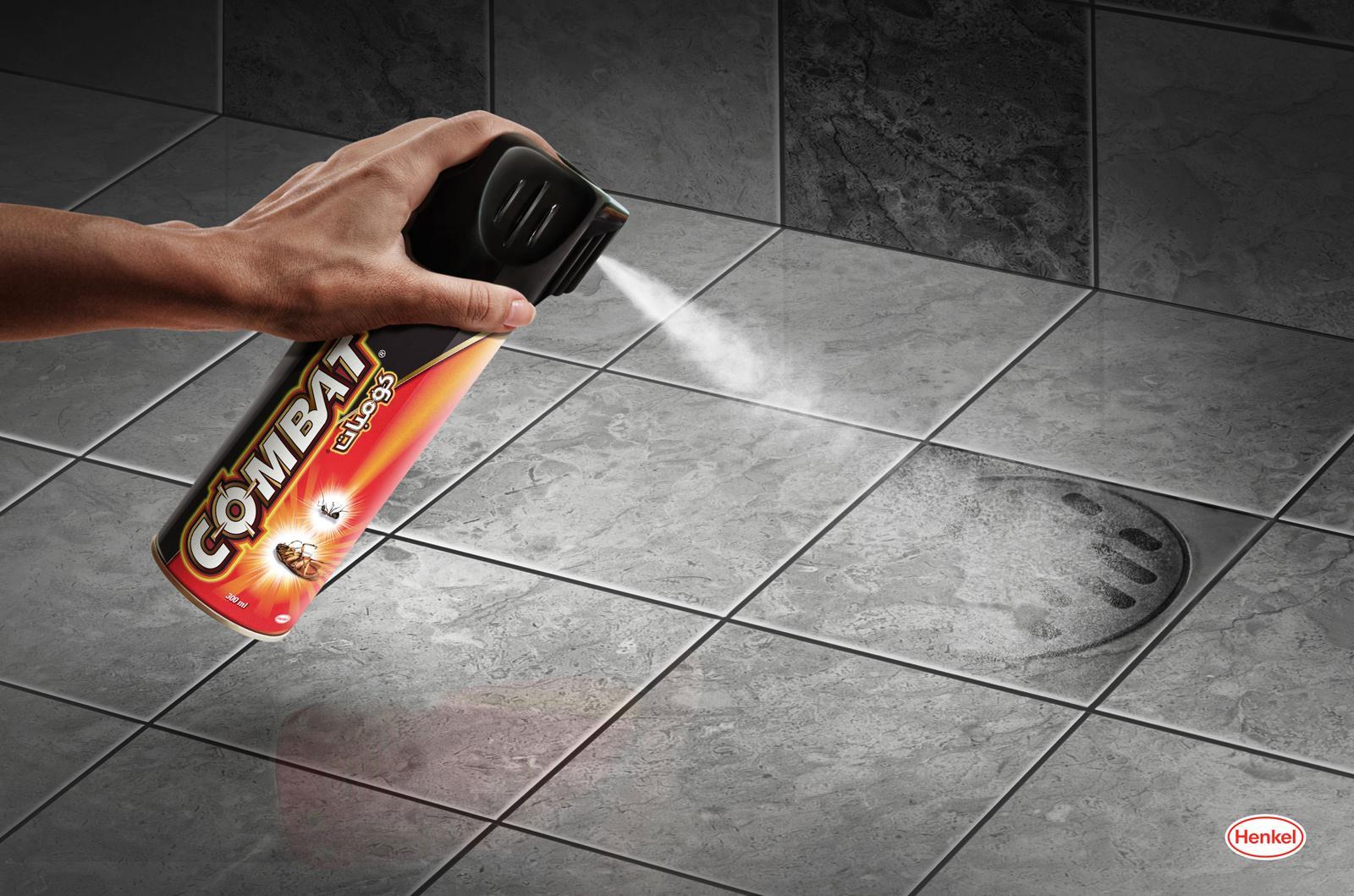 Henkel Print Ad -  Spray