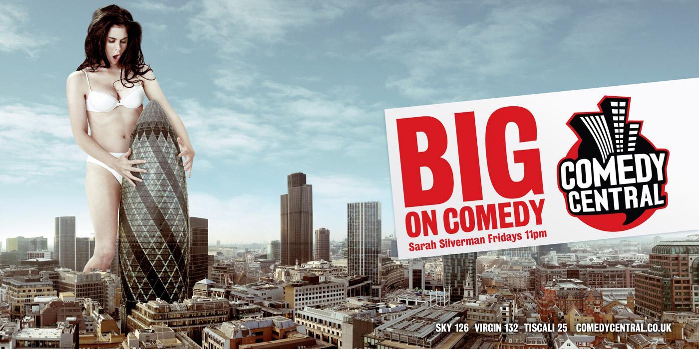 Comedy Central Print Ad -  Sarah Silverman
