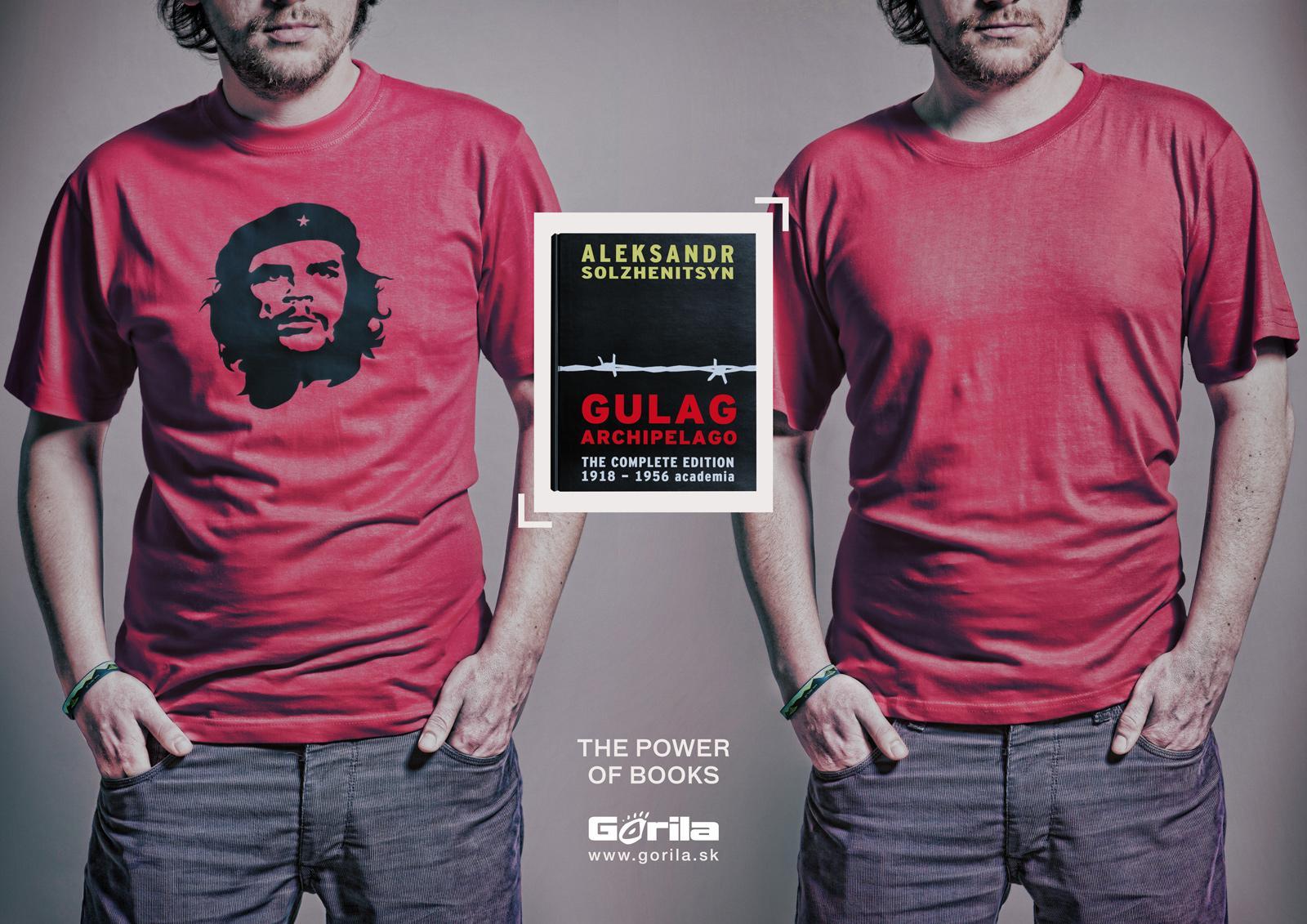 Gorila.sk Print Ad -  Commie