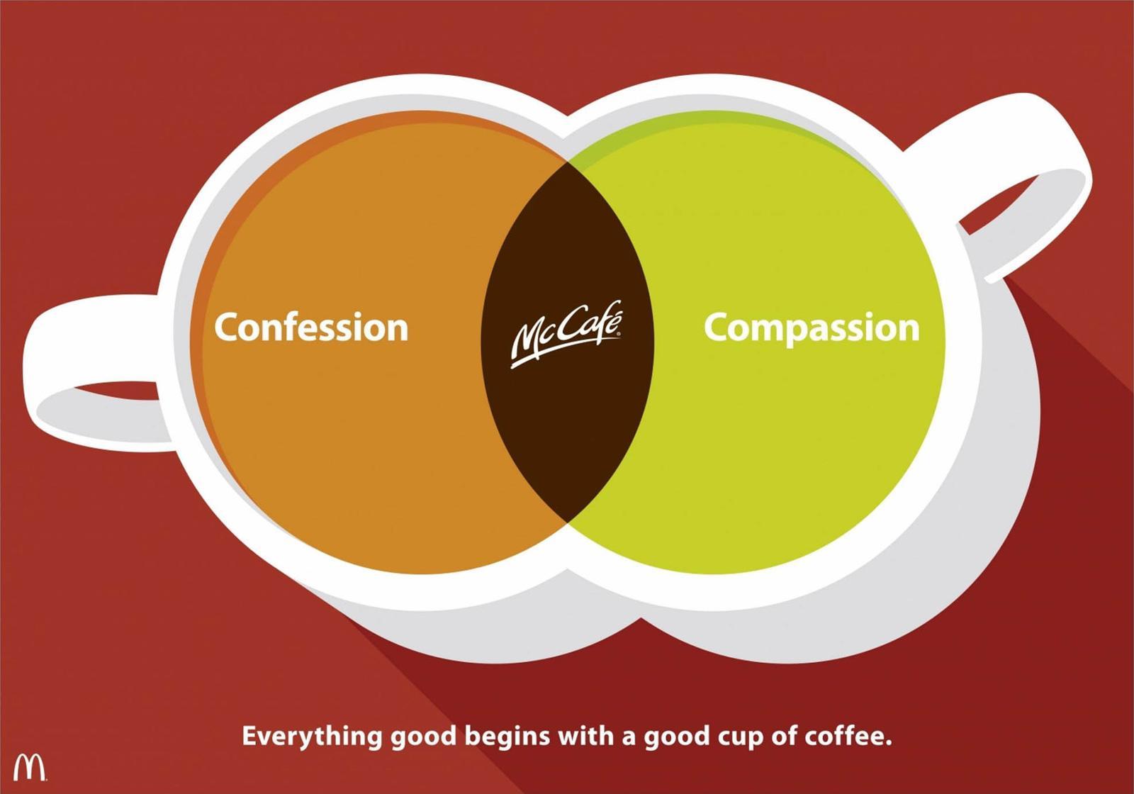 McDonald's Print Ad -  Confession