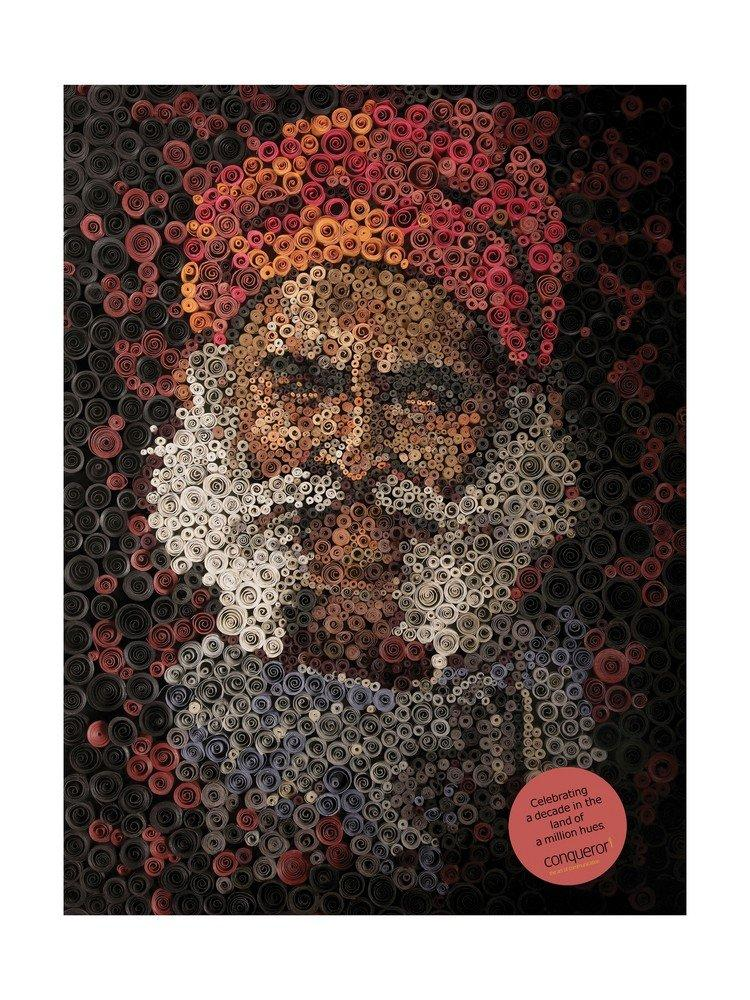 Conqueror Print Ad -  Colours of India, 1