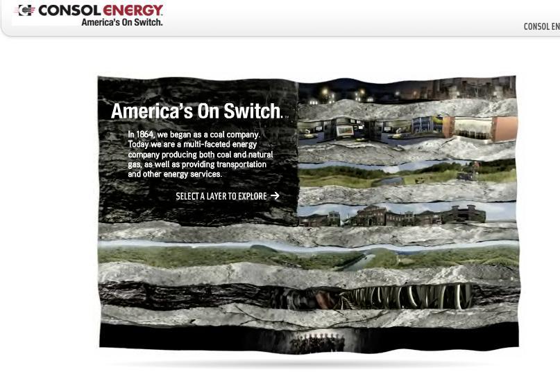 Consol Energy Digital Ad -  Flag