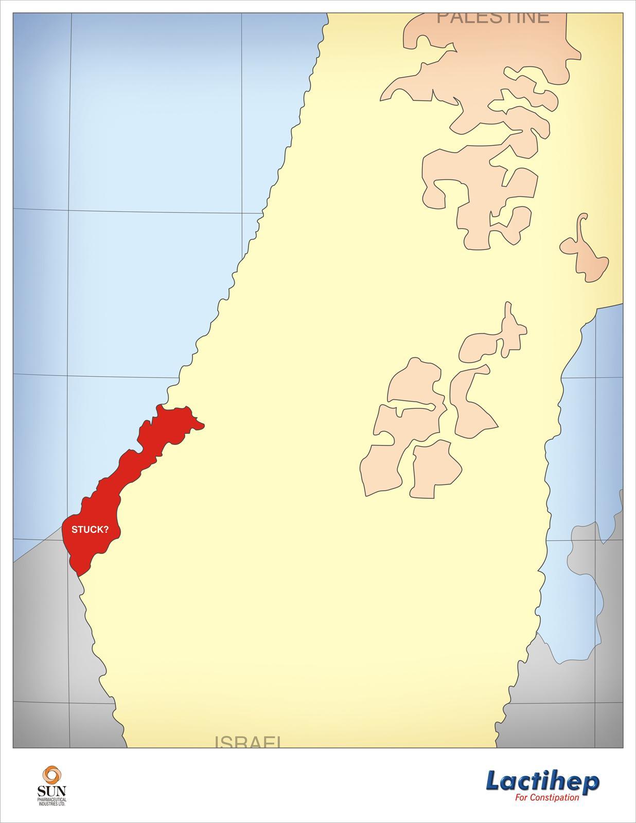 Lactihep Print Ad -  Palestine/Israel