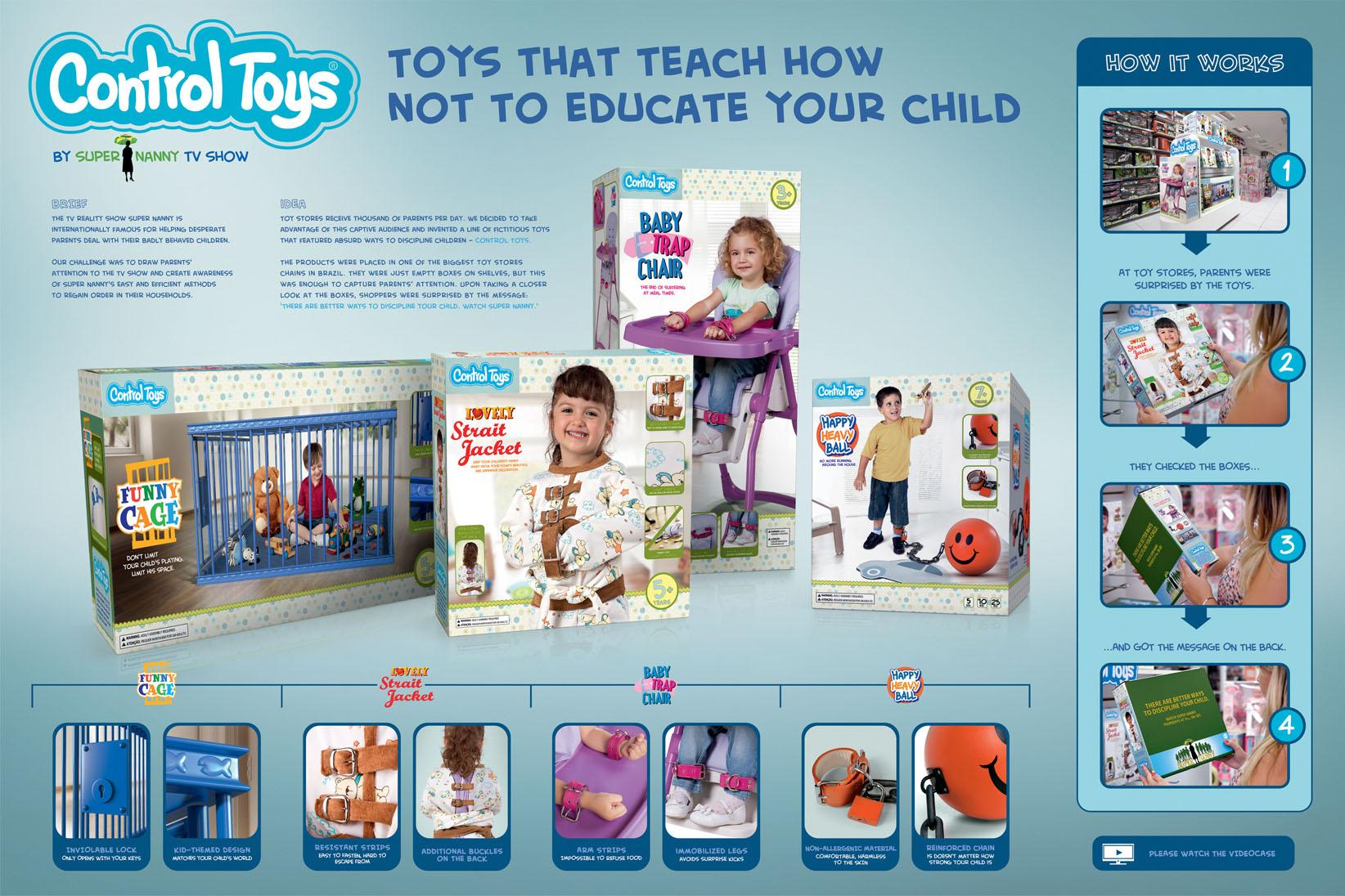 Super Nanny Direct Ad -  Control Toys