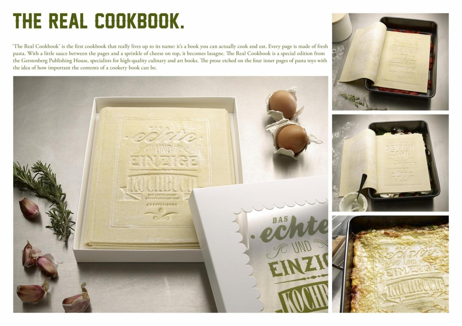 Gerstenberg Verlag Direct Ad -  The Real Cookbook