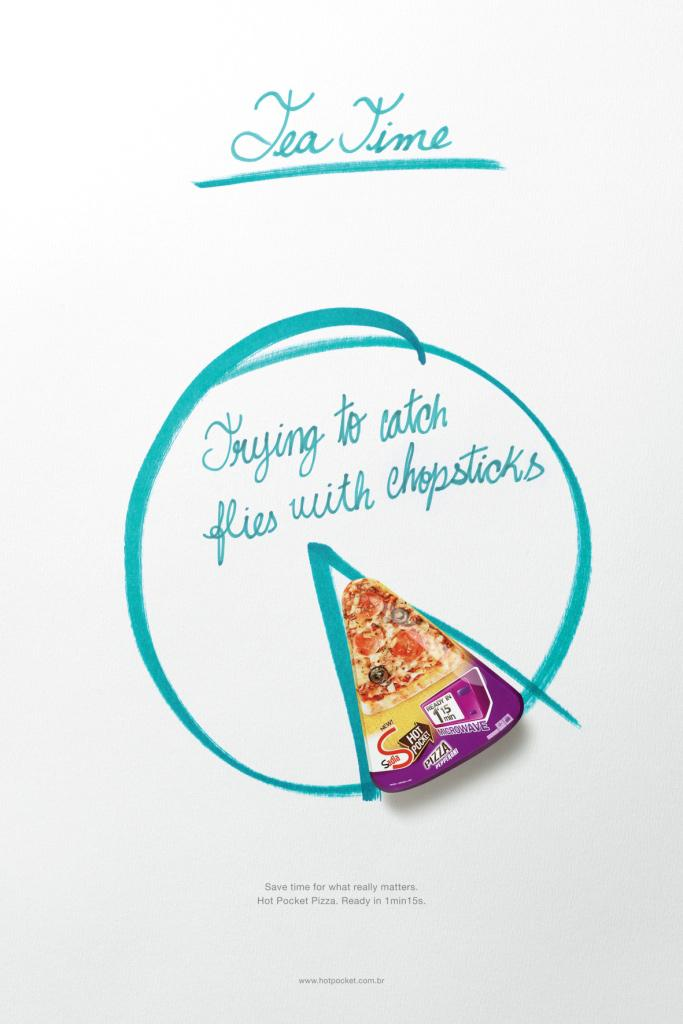 Sadia Print Ad -  Chopsticks