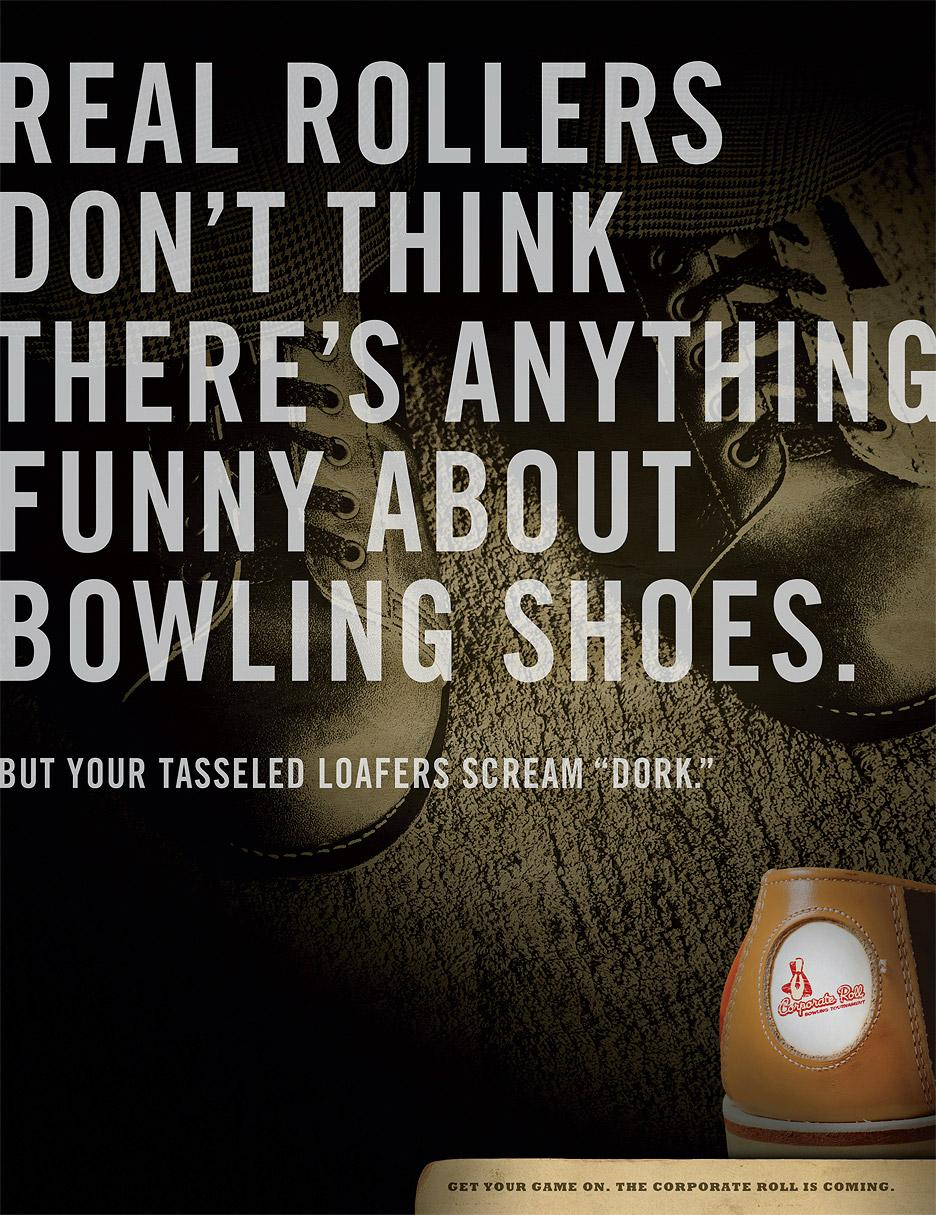 Corporate Roll Print Ad -  Shoes