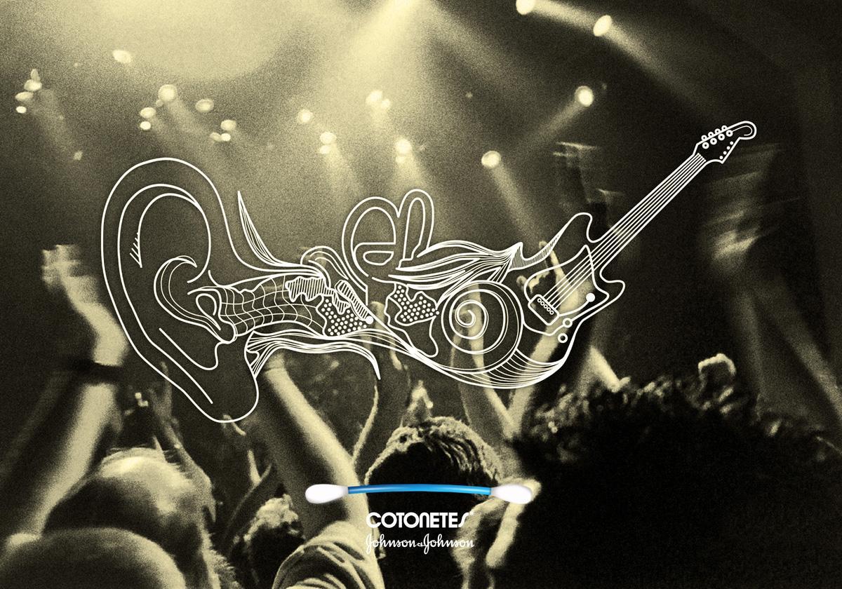 Cotonetes Print Ad -  Concert