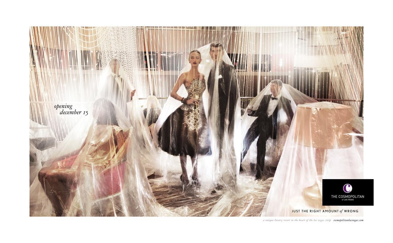 The Cosmopolitan Print Ad -  Couple