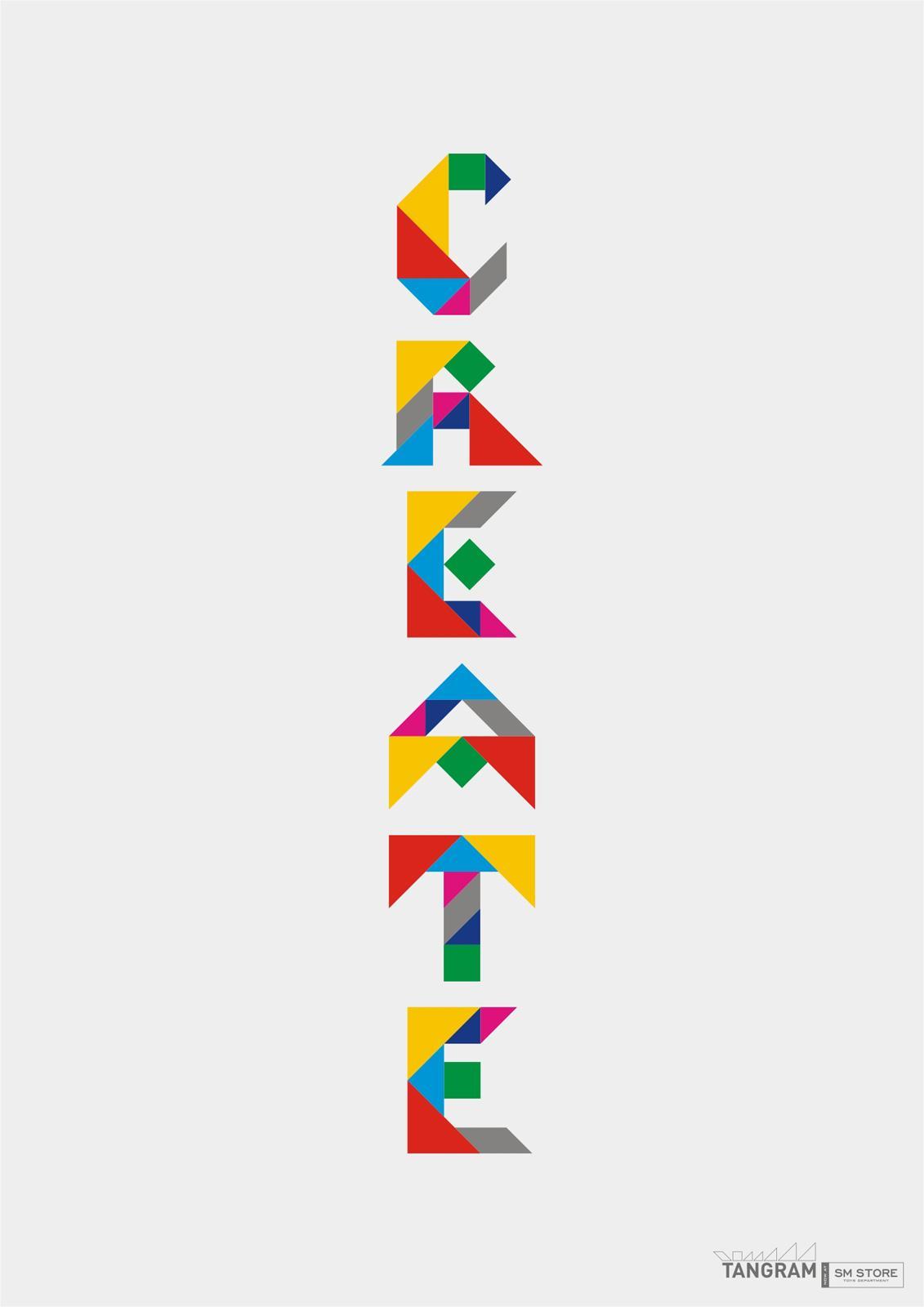 Tangram Print Ad -  Create