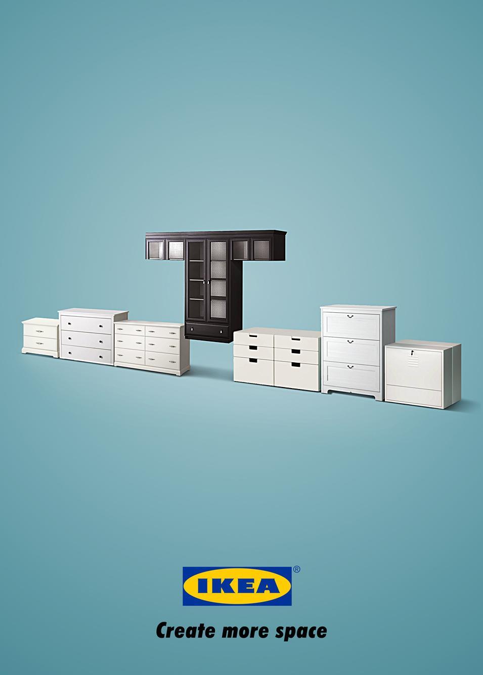 IKEA Print Ad -  Tetris