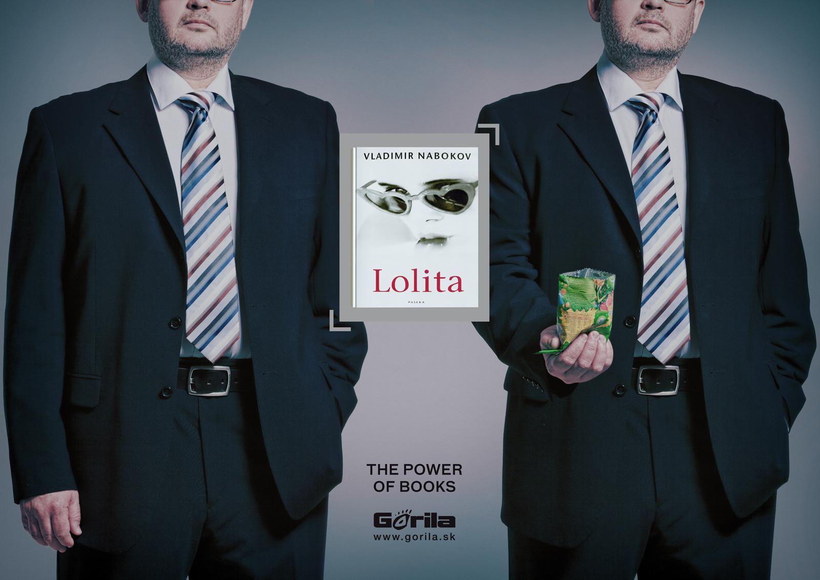 Gorila.sk Print Ad -  Creepy Guy