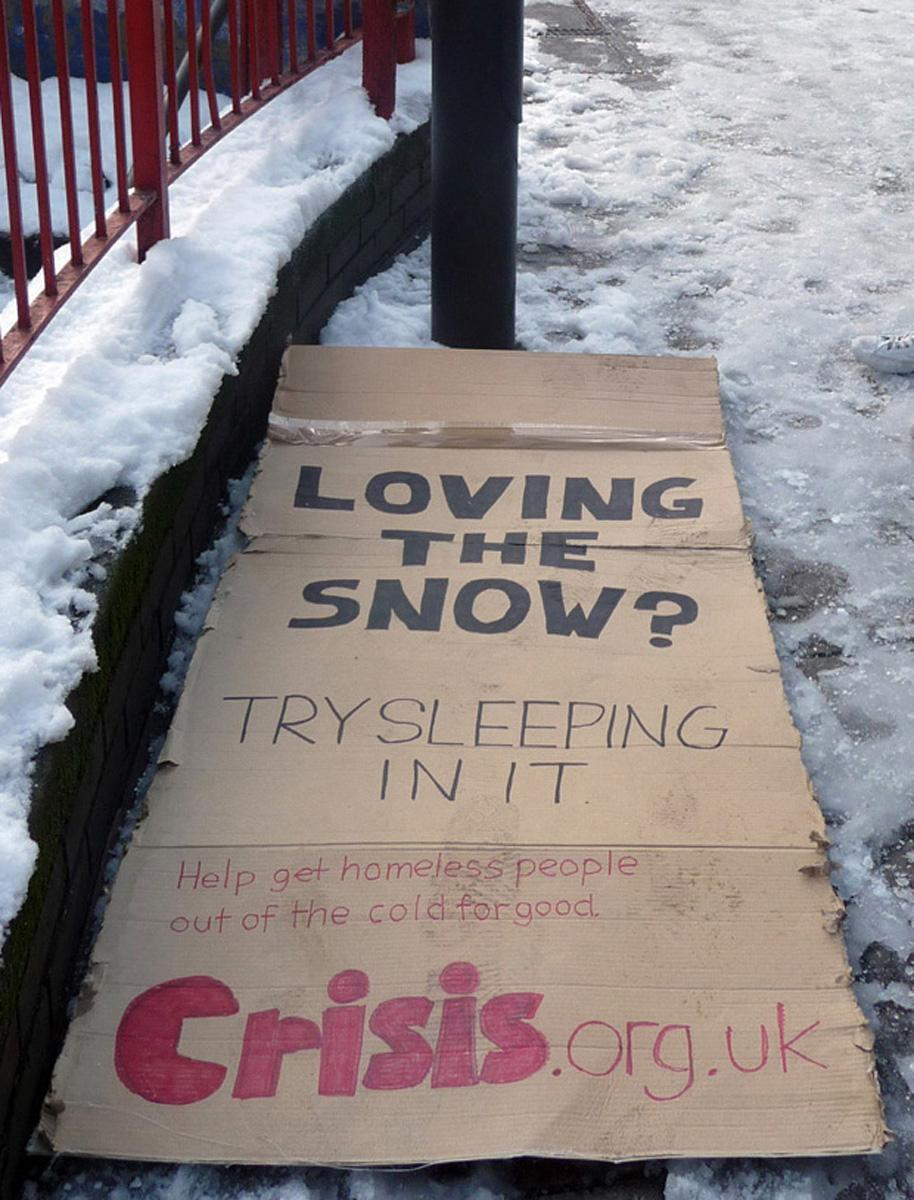 Crisis Ambient Ad -  Snow bed