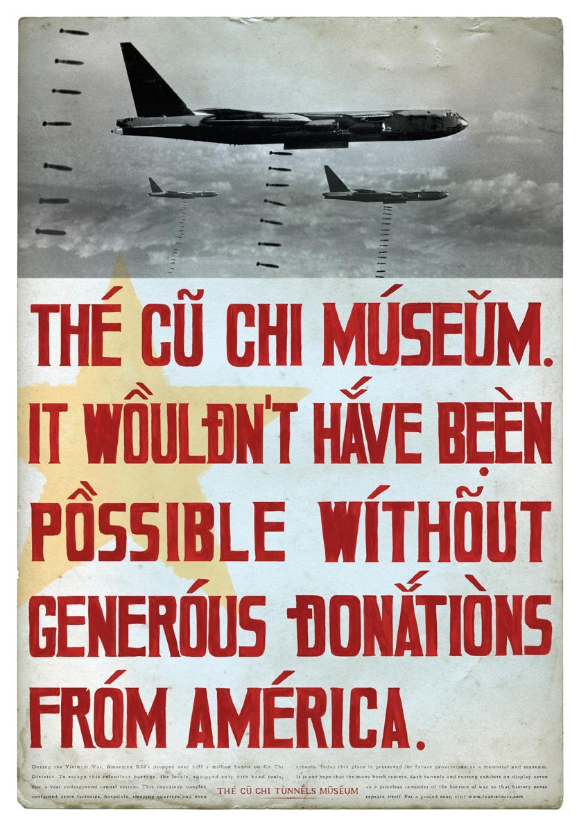 Cu Chi Museum Print Ad -  Donations
