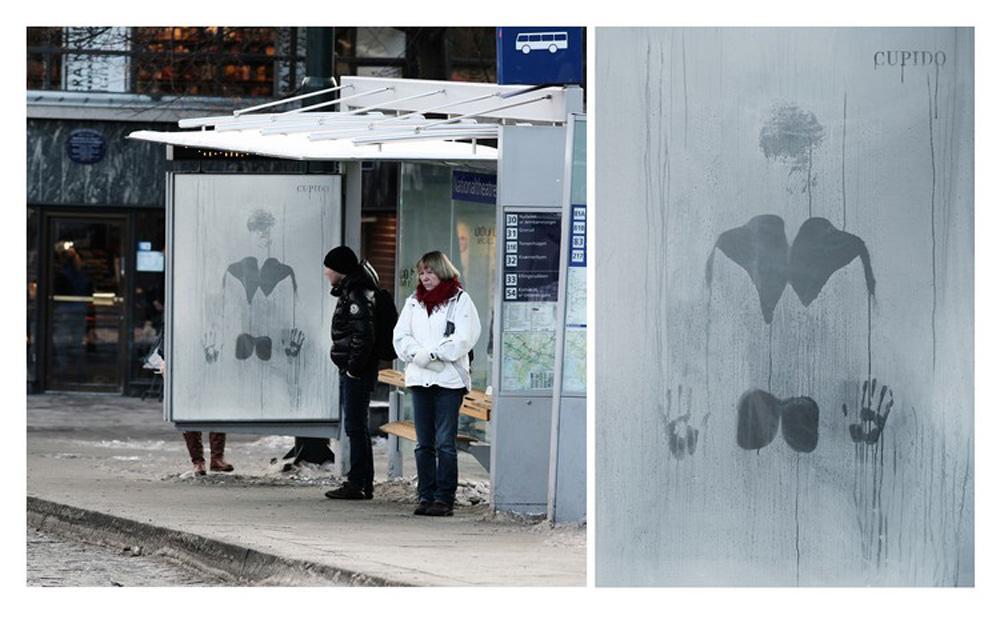 Cupido Outdoor Ad -  Steamy Winter, 2