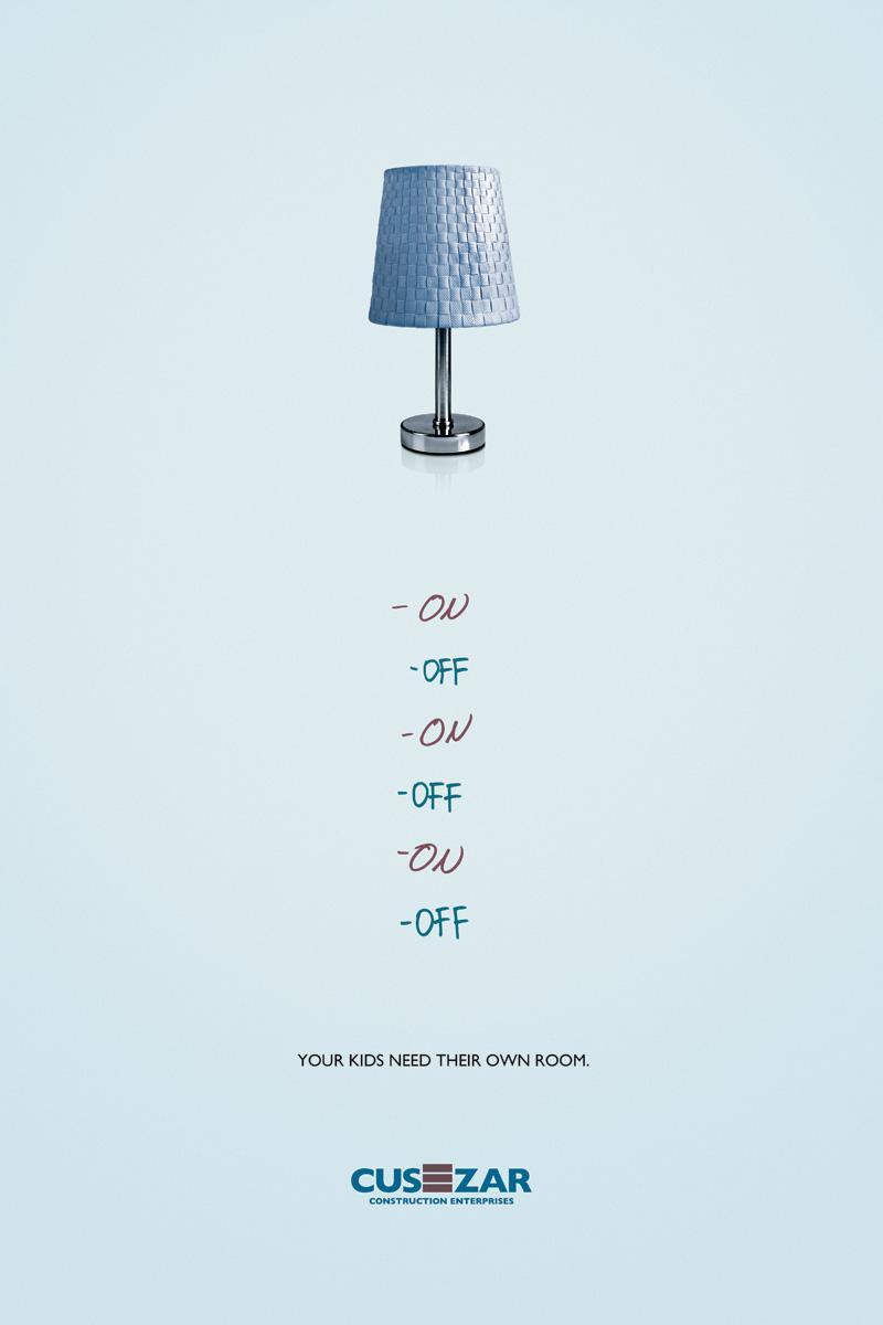 Cusezar Print Ad -  Lamp