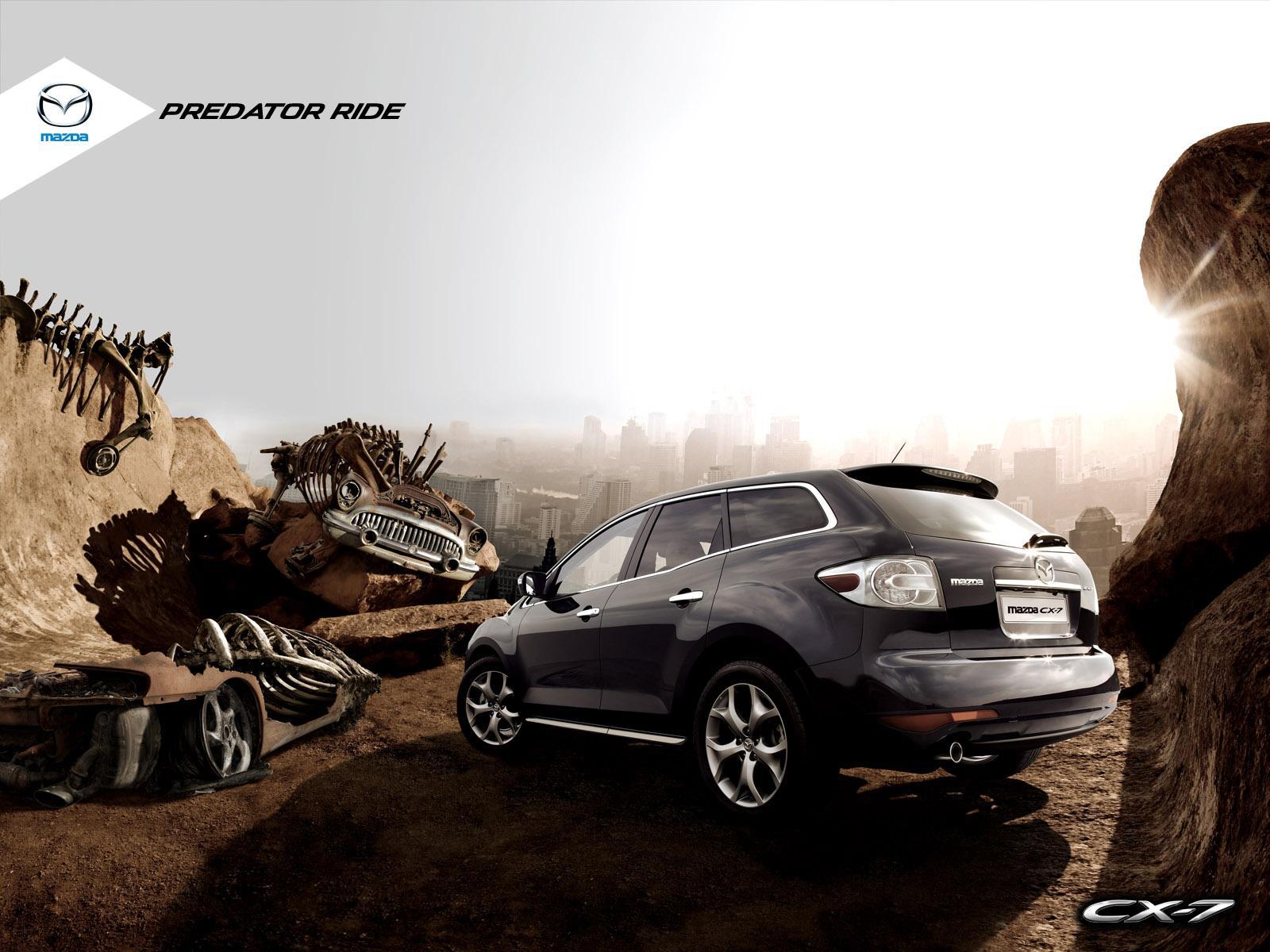 Mazda Print Ad -  Predator Ride, 3
