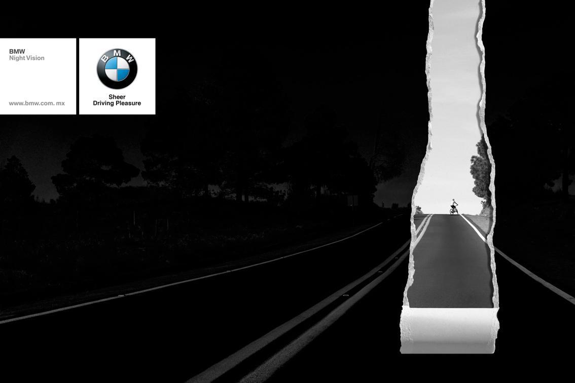 BMW Print Ad -  Cyclist