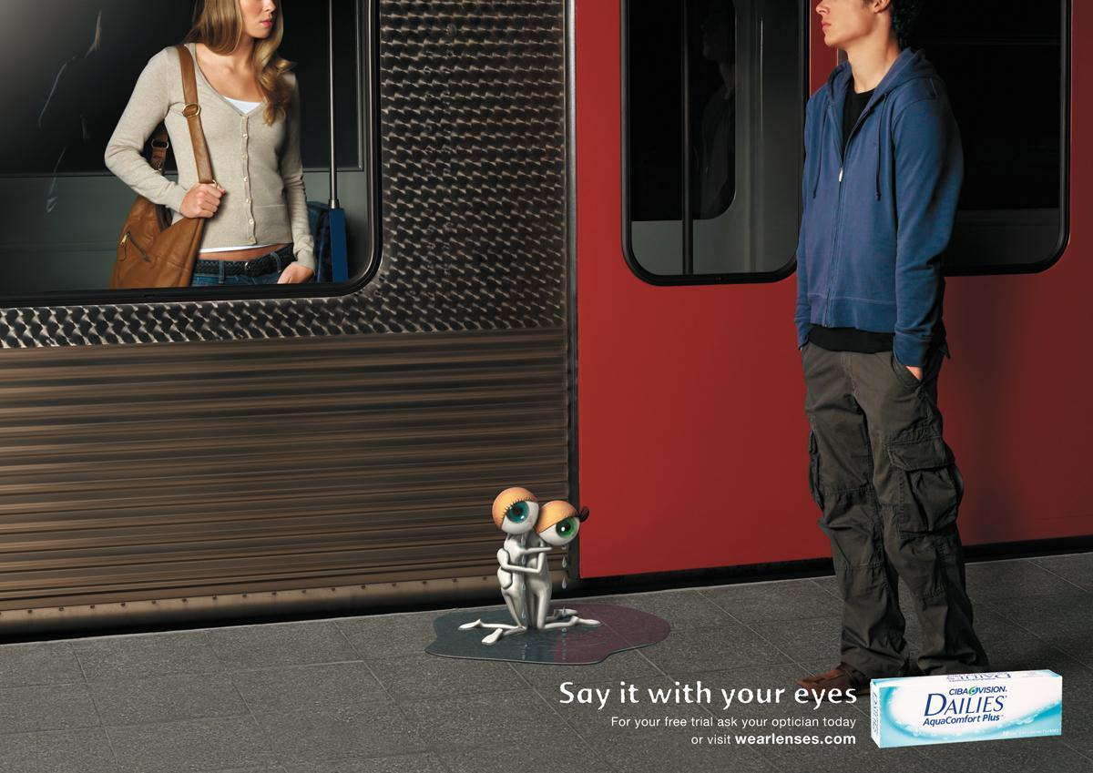 Ciba Print Ad -  Train